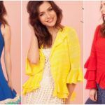 Florencia Llompart Tejidos verano 2018 – Sweater, cardigans y vestidos