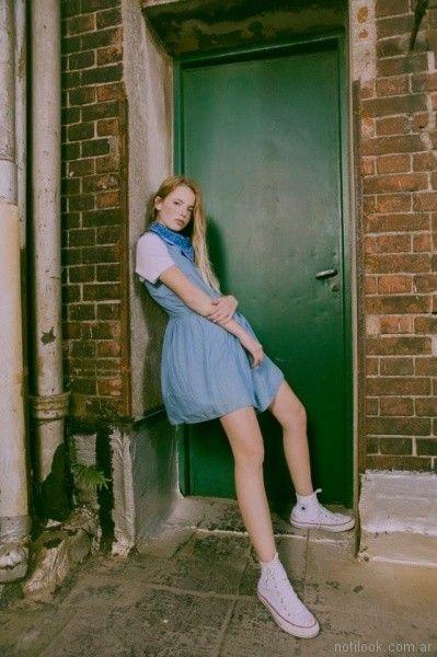Vestido de jeans levis verano 2018