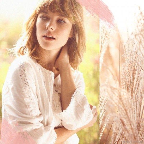blusas con recotes y terminaciones en puntilla koxis primavera verano 2018
