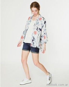 camisa estampada verano 2018 - WANAMA