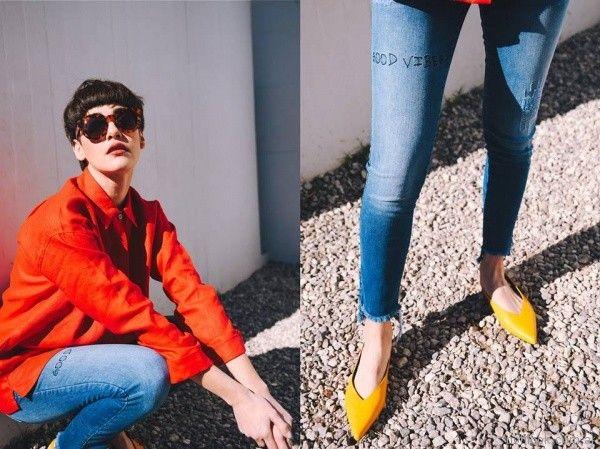 camisa naranja primavera verano 2018 - Pablo Mei