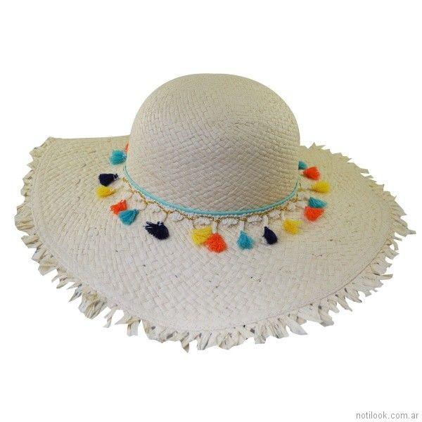 capelina de rafia verano 2018 - compañia de sombrero