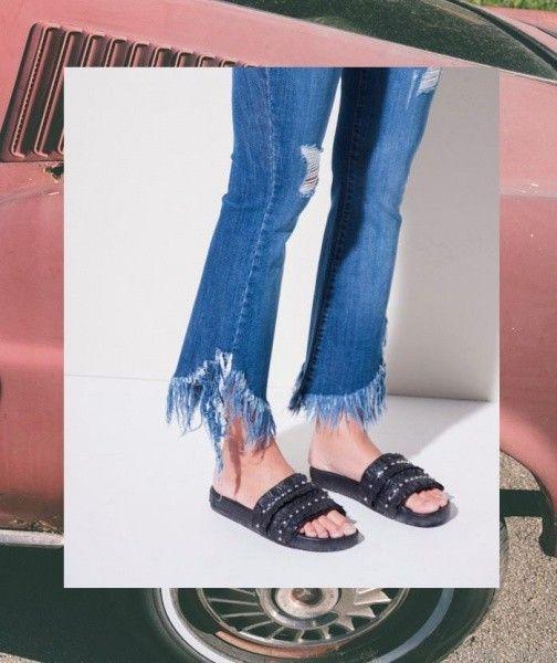 jeans deflecados primavera verano 2018 - Ossira