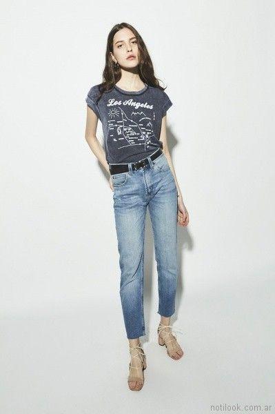 jeans tiro alto Ay Not Dead verano 2018