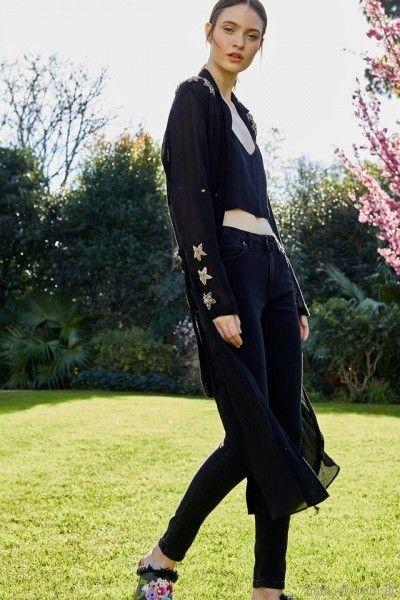 kimono largo de gasa Vero Alfie primavera verano 2018