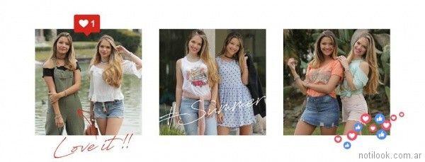 look adolescentes verano 2018 - Doll fins