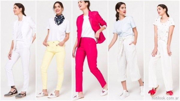 pantalones de moda para mujer verano 2018 - Portsaid