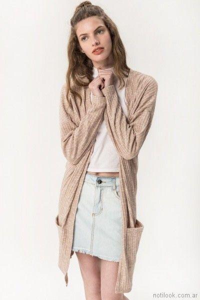 pollera de jeans para teenagera primavera verano 2018 - MUAA