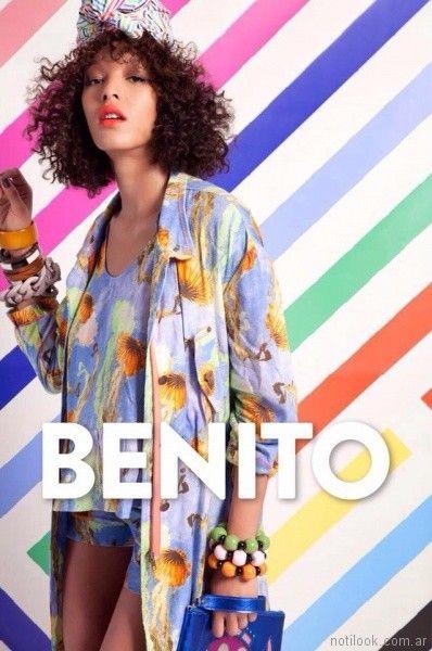 prendas estampas exclusivas verano 2018 - Benito Fernandez