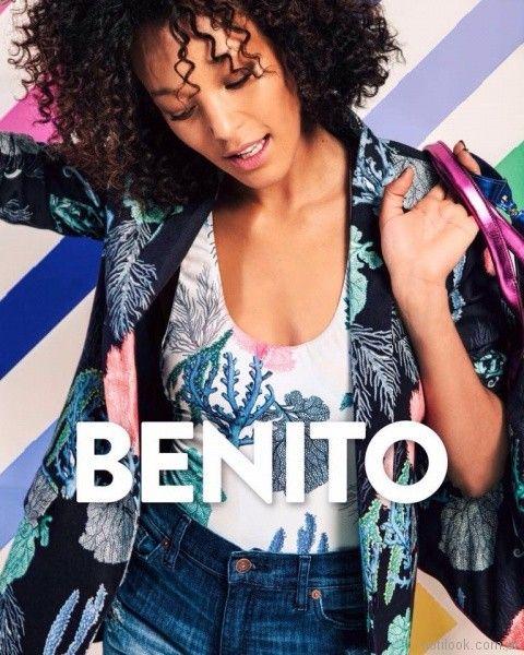 saco estampado verano 2018 - Benito Fernandez