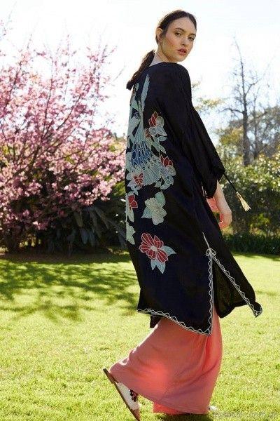 tunica con bordado en espalda Vero Alfie primavera verano 2018