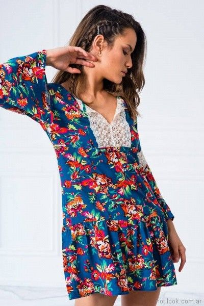 tunica estampada Doll store primavera verano 2018