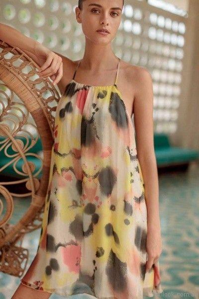 vestido plisado para el dia Ayres primavera verano 2018
