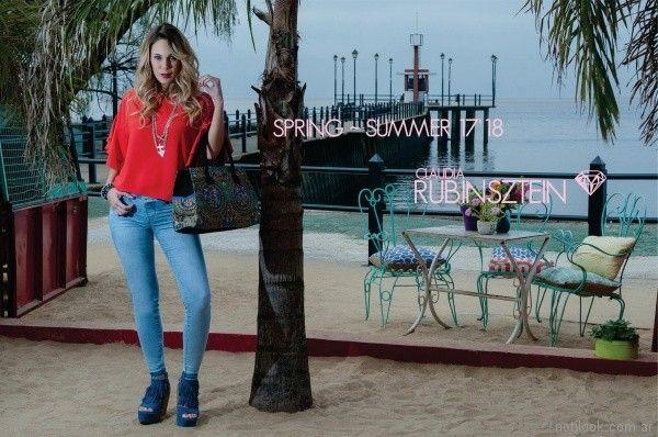 Claudia Rubinsztein primavera verano 2018 blusas