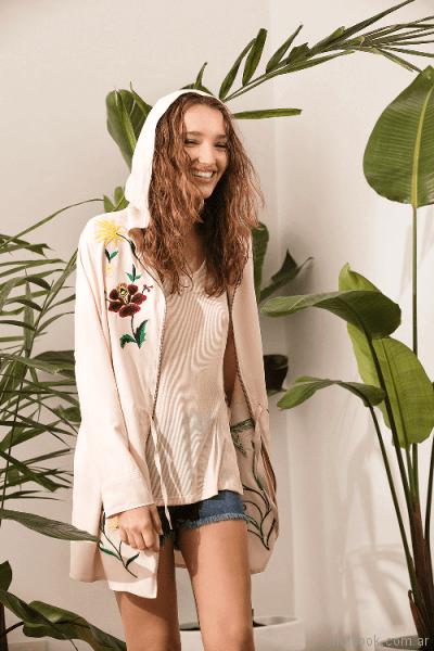 abrigos livianos para el verano System basic primavera verano 2018