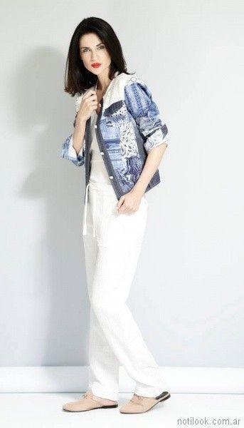 campera de jeans señoras Noelia G primavera verano 2018