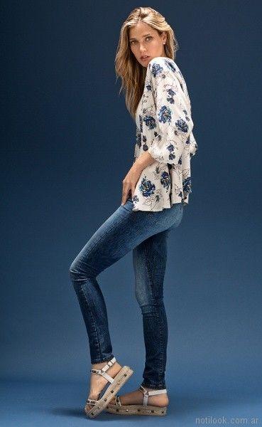 jeans mujer cuesta blanca verano 2018