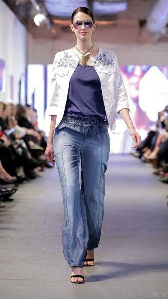 jeans para señoras Adriana Costantini verano 2018