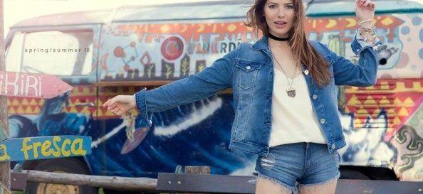look casual Viga jeans verano 2018