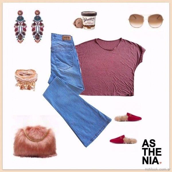 look casual jeans oxford Asthenia verano 2018