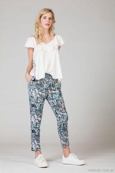 pantalon estampado verano 2018 - Julien ropa juvenil