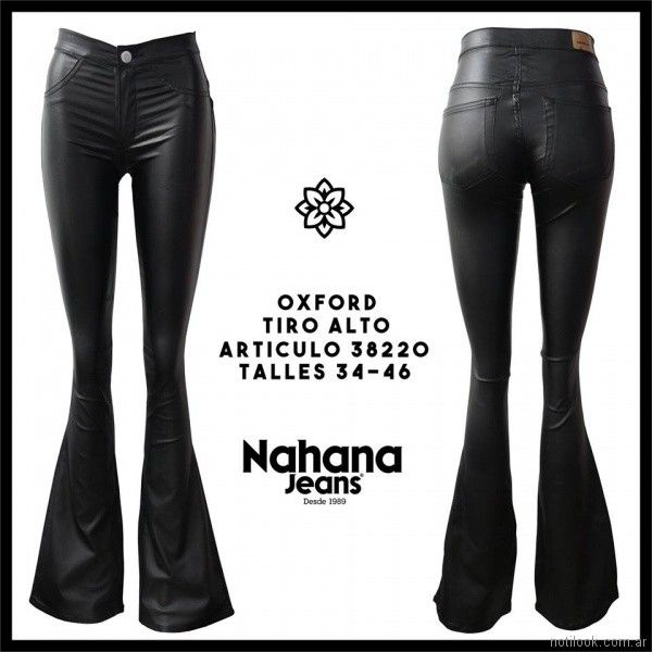 pantalon oxford engomado Nahana jeans verano 2018
