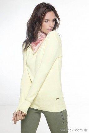 sweater de hilo primavera verano 2018 - Nuss Tejidos