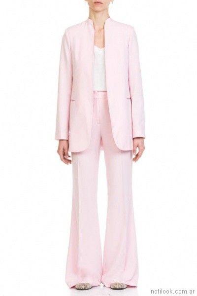 traje de mujer rosado verano 2018 - Naima