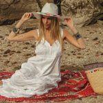 Vars – Moda playa – Vestidos bordados verano 2018