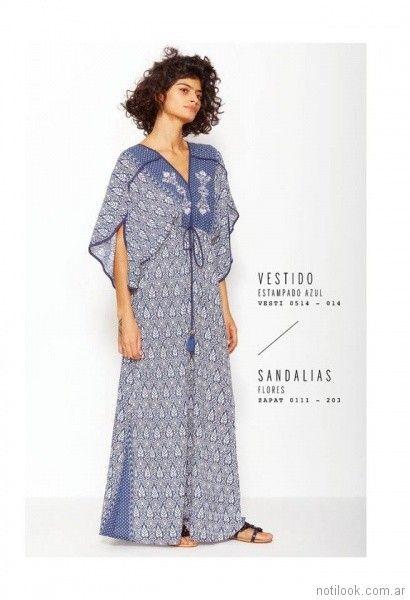 vestido largo casual VER mujeres apasionadas verano 2018