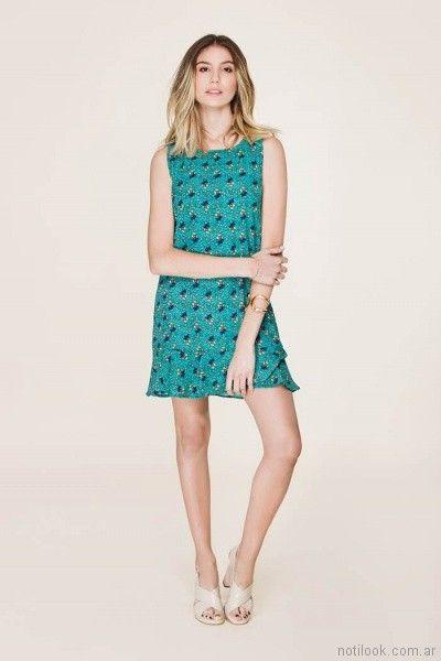 Vestidos cortos primavera verano