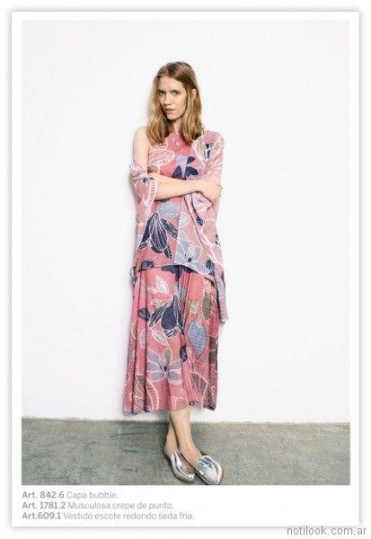 vestidos estampados informales Exordio verano 2018