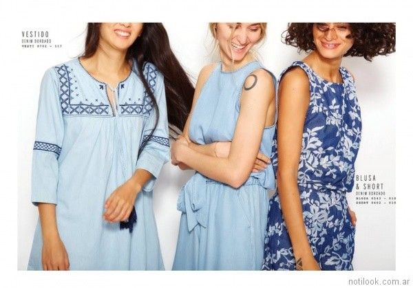 vestidos informales VER mujeres apasionadas verano 2018
