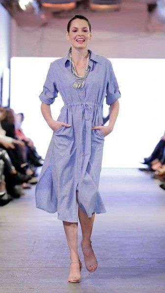 vestidos informales para señoras adriana costantini verano 2018