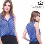 Cuesta Azul – camisas de mujer verano 2018