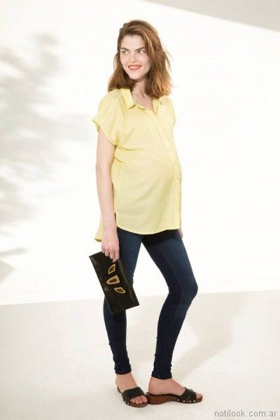 camisa para embarazadas Venga Madre primavera verano 2018