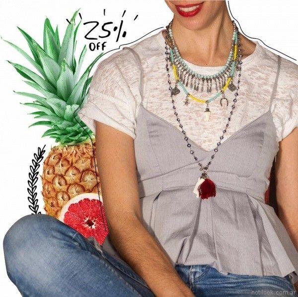 collares de moda Mechi Garay primavera verano 2018