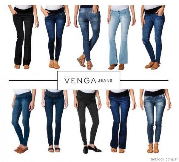 jeans para embarazadas Venga Madre primavera verano 2018