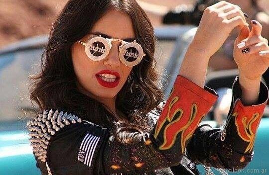 look rockero mujer The Vox primavera verano 2018