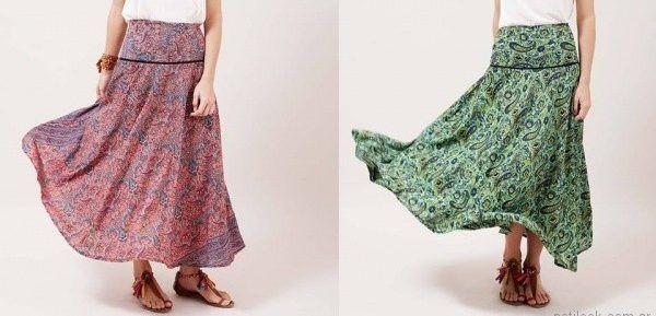 0998c1d4e India Santa – Polleras largas bohemias verano 2018 | Moda Mujer ...