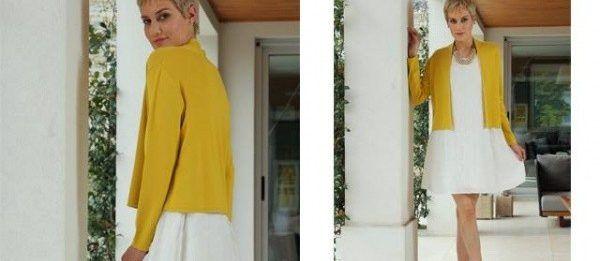 saquito de hilo Arauz Sweaters tejidos primavera verano 2018
