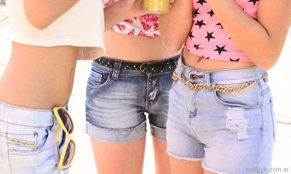 short de jeans juveniles kanikama primavera verano 2018