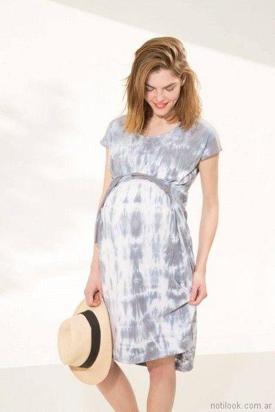 vestido batik informal para embarazadas Venga Madre primavera verano 2018