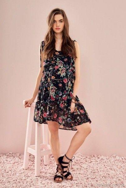 vestido floreado para el dia para embarazadas Venga Madre primavera verano 2018