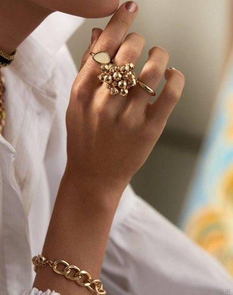 anillos dorados Isadora verano 2018