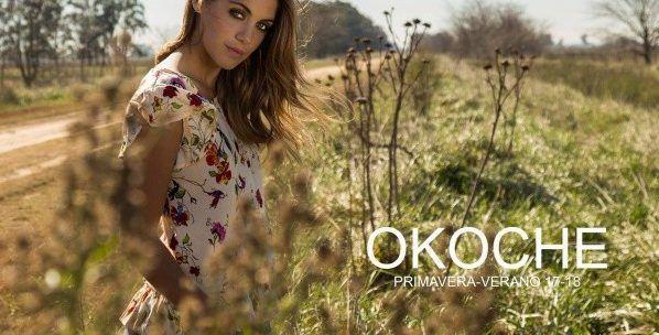 blusa floreada Okoche primavera verano 2018