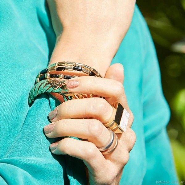 brazaletes redondos Isadora verano 2018