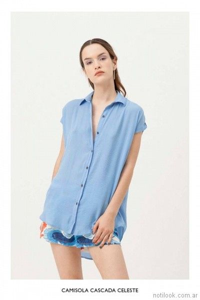 camisa asimetrica musculosa vestite y andate primavera verano 2018
