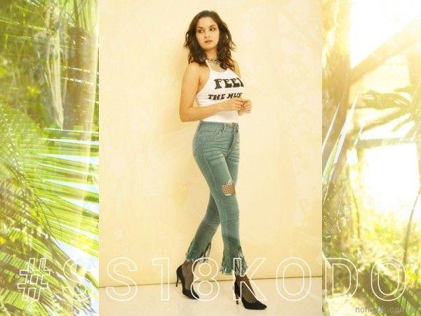jeans con terminacion desflecada Kodo Jeans primavera verano 2018