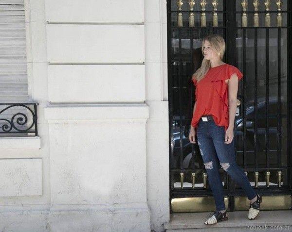 look casual mujer Marcela Pagella primavera verano 2018